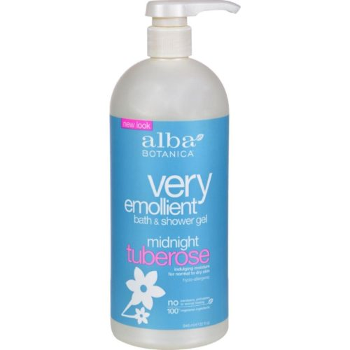 HG0496547 32 fl oz Very Emollient Bath & Shower Gel, Midnight Tuberose
