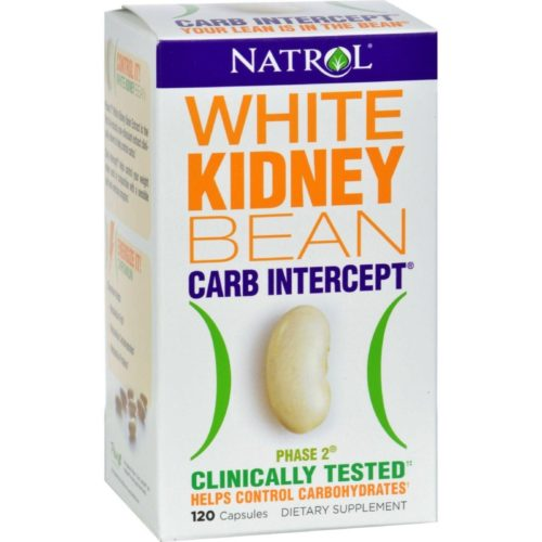 HG0516120 White Kidney Bean Carb Intercept - 120 Capsules
