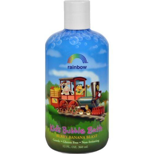 HG0562785 12 fl oz Organic Herbal Bubble Bath for Kids Berry - Banana Blast
