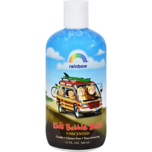 HG0562843 12 fl oz Organic Herbal Bubble Bath for Kids Unscented