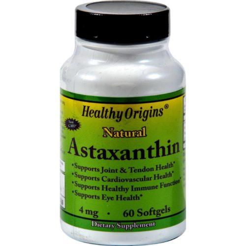 HG0581199 4 mg Astaxanthin - 60 Softgels