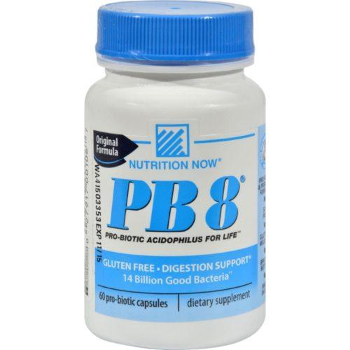 HG0632224 PB 8 Pro-Biotic Acidophilus for Life - 60 Capsules