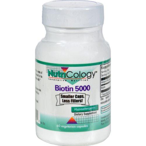 HG0648931 Biotin 5000 - 60 Capsules