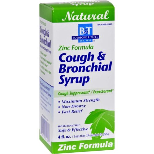 HG0648964 4 oz Cough & Bronchitis Syrup with Zinc