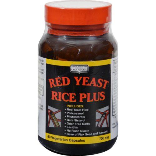 HG0747857 Red Yeast Rice Plus - 60 Vegetable Capsules