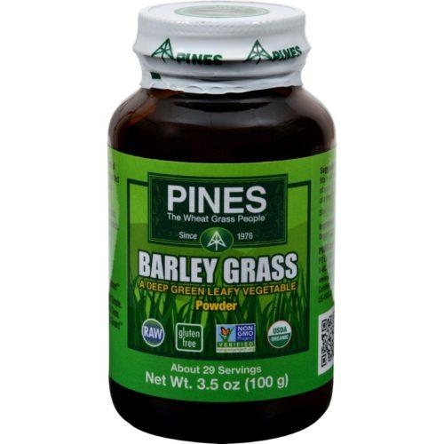 HG0761502 3.5 oz 100 Percent Organic Barley Grass Powder