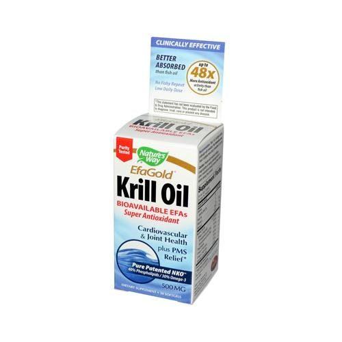 HG0783654 Efagold Krill Oil - 30 Softgels