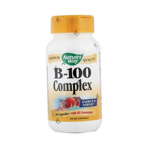 HG0816488 Vitamin B-100 Complex - 60 Capsules