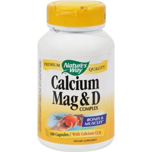HG0817064 Calcium Magnesium & D Complex - 100 Capsules