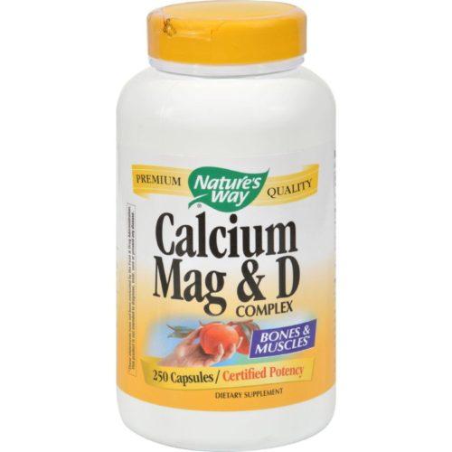 HG0817460 Calcium Magnesium & D Complex - 250 Capsules