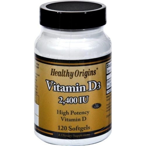 HG0820514 Vitamin D3 - 2400 Iu - 120 Softgels