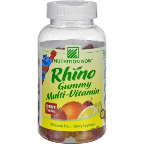 HG0843037 Rhino Gummy Multi-Vitamin - 190 Gummy Bears