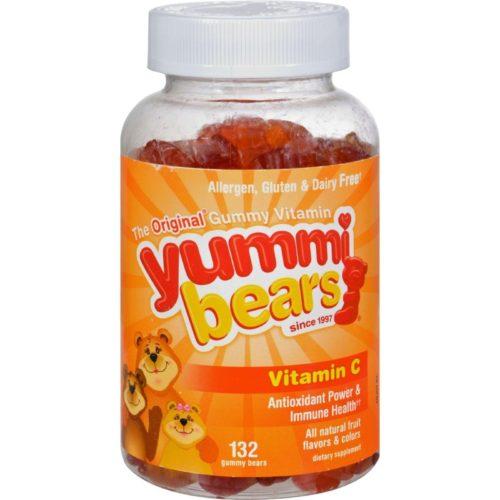 HG0883835 Yummi Bears Vitamin C - 132 Gummy Bears