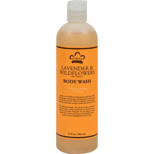 HG0918219 13 fl oz Body Wash with Shea Butter Lavender & Wildflowers