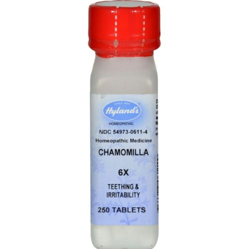 HG0932822 Homeopathic Chamomilla 6X - 250 Tablets