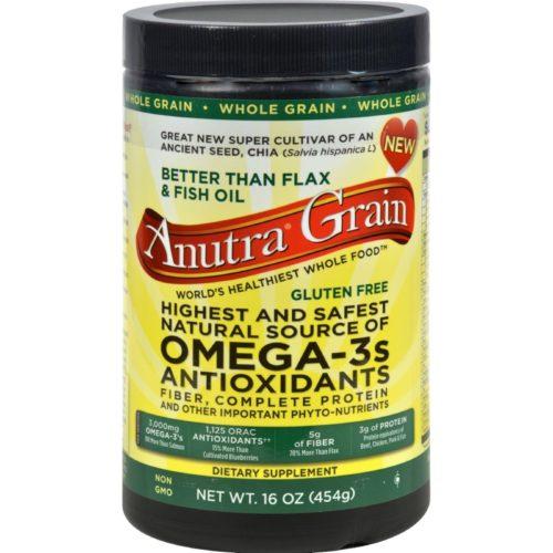 HG0933614 16 oz Omega 3 Antioxidants Fiber & Complete Protein Whole Grain