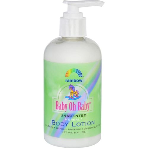 HG0941526 8 fl oz Organic Herbal Baby Body Lotion - Unscented