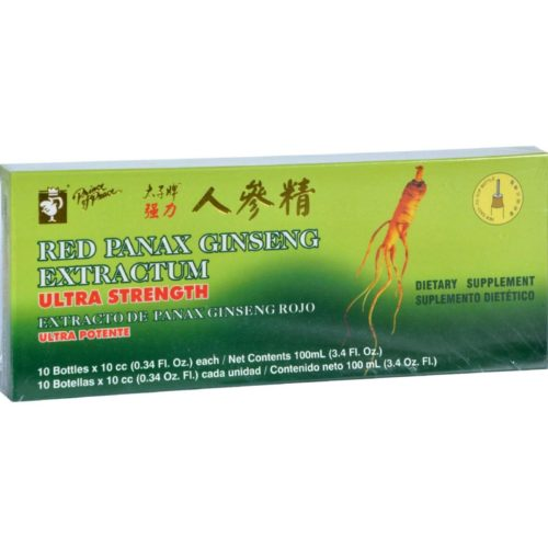 HG0957456 Red Panax Ginseng Extractum Ultra Strength - 10 Vials