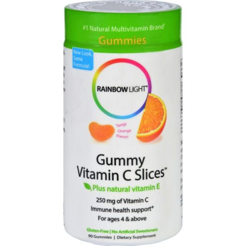 HG1013937 250 mg Gummy Vitamin C Slices Tangy Tangerine - 90 Gummies Slices