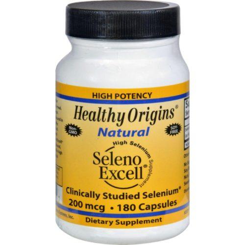 HG1099530 200 mcg Seleno Excell Selenium - 180 Capsules