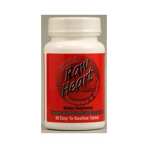 HG1114636 Raw Heart - 60 Tablets