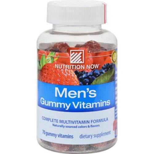 HG1118223 Mens Gummy Vitamins Bold Fruit - 70 Gummies