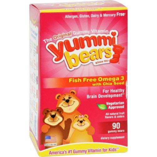 HG1129907 Omega 3-6-9 Yummi Bear, 90 Count