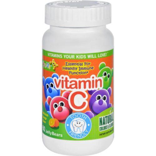 HG1137827 Vitamin C Jellies Yummy Orange - 60 Chewables