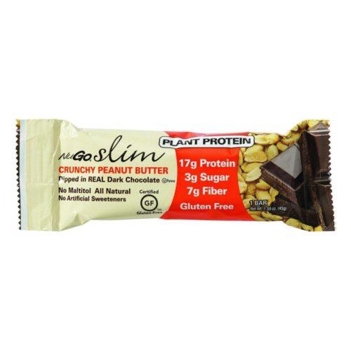 HG1158443 1.59 oz Slim Crunchy Peanut Butter Bar - Case of 12
