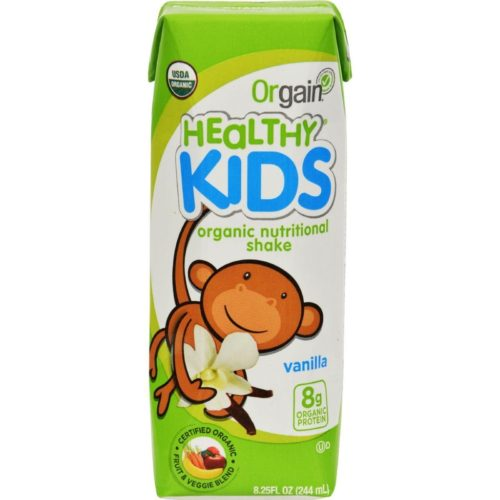 HG1189786 8.25 fl oz Organic Nutrition Shake - Vanilla Kids, Case of 12