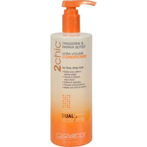HG1263979 24 fl oz 2chic Conditioner, Ultra-Volume Tangerine & Papaya Butter