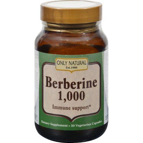 HG1504042 1000 mg Berberine - 50 Vegetarian Capsules
