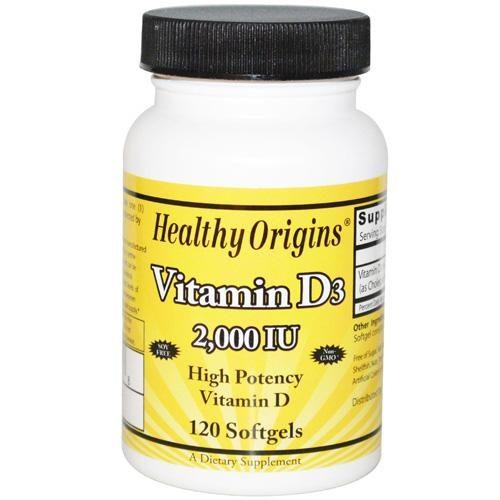 HG1510452 Vitamin D3 - 2000 Iu, 120 Softgels