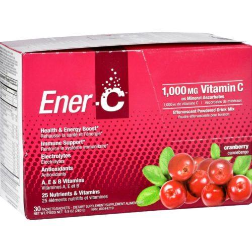 HG1631431 1000 mg Vitamin Drink Mix - Cranbeery, 30 Packet