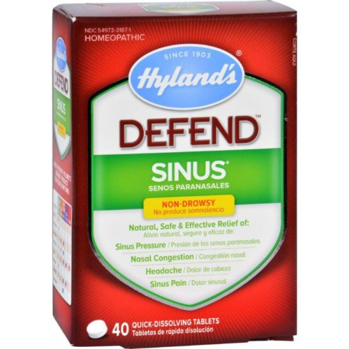 HG1720242 Homeopathic Sinus, Defend - 40 Tablets