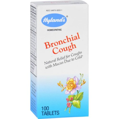 HG1720275 Homeopathic Bronchial Cough - 100 Tablets