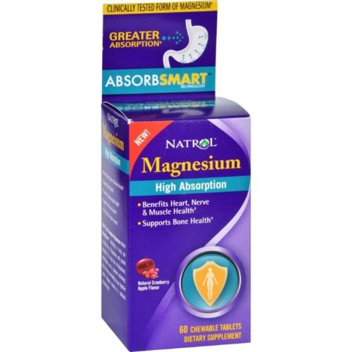 HG1730779 Magnesium, High Absorption - 60 Tablets