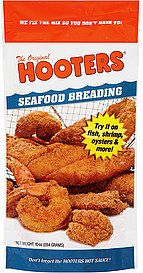 HOOTERS BREADING SEAFOOD-10 OZ -Pack of 6