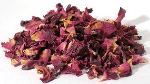 HROSRW 2 oz Rose Buds and Petals Red - Rosa Gallica