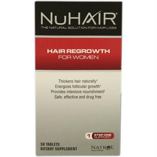 Hair Regrowth - NuHair Women - 60 Tablets - 1472836