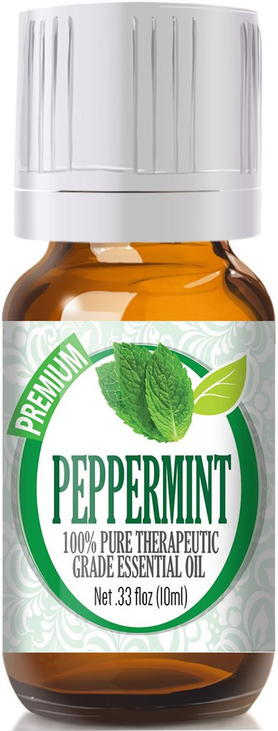 Healing Solutions 1743740 Peppermint Essential Oil, 10ml - Pack of 3