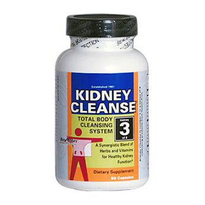 Health Plus 0977629 Super Kidney Cleanse - 90 Capsules