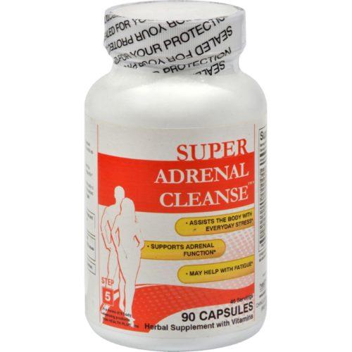 Health Plus HG0977579 Adrenal Cleanse - 90 Capsules