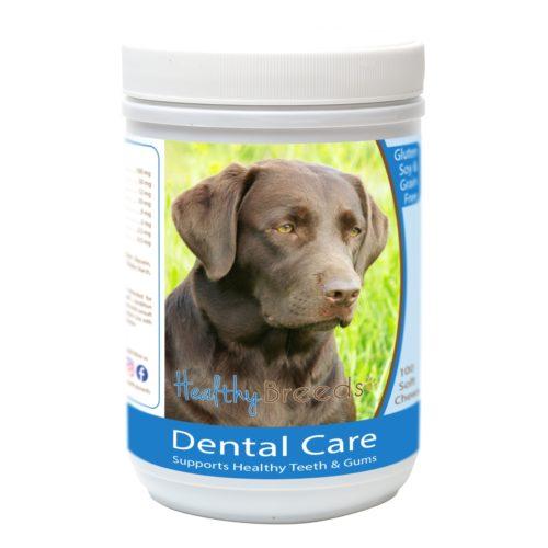 Healthy Breeds840235162636 LabradorRetriever Breath CareSoft Chews for Dogs - 100Count