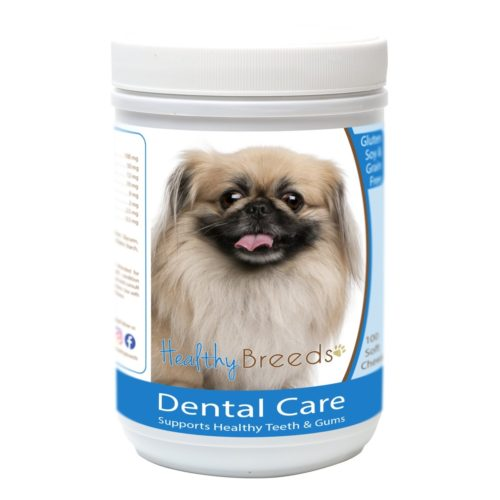 Healthy Breeds840235162704Pekingese Breath CareSoft Chews for Dogs - 100 Count