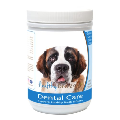 Healthy Breeds840235162889 SaintBernard Breath Care SoftChews for Dogs - 100Count