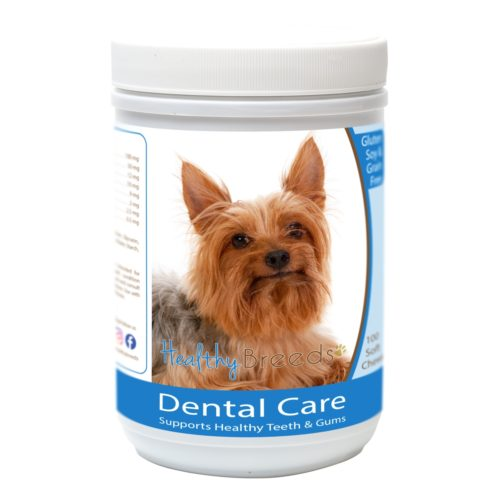 Healthy Breeds840235162988 SilkyTerrier Breath Care SoftChews for Dogs - 100Count