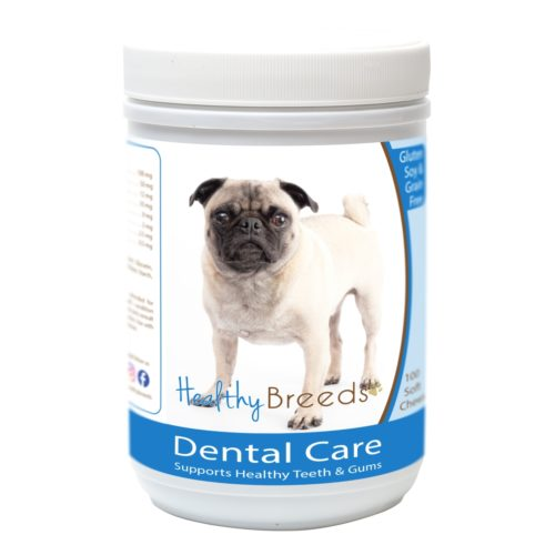 Healthy Breeds840235163114 PugBreath Care Soft Chewsfor Dogs - 100 Count