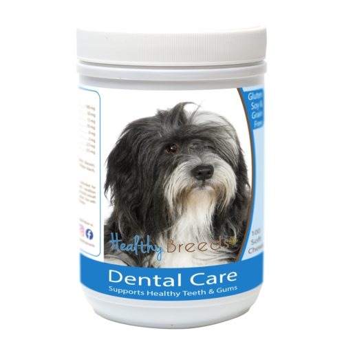 Healthy Breeds840235163428 Lhasa ApsoBreath Care Soft Chews forDogs - 100 Count