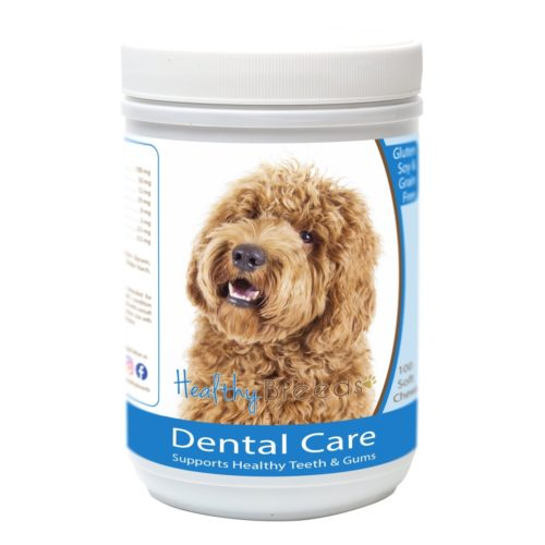 Healthy Breeds840235163459Labradoodle Breath CareSoft Chews for Dogs - 100Count